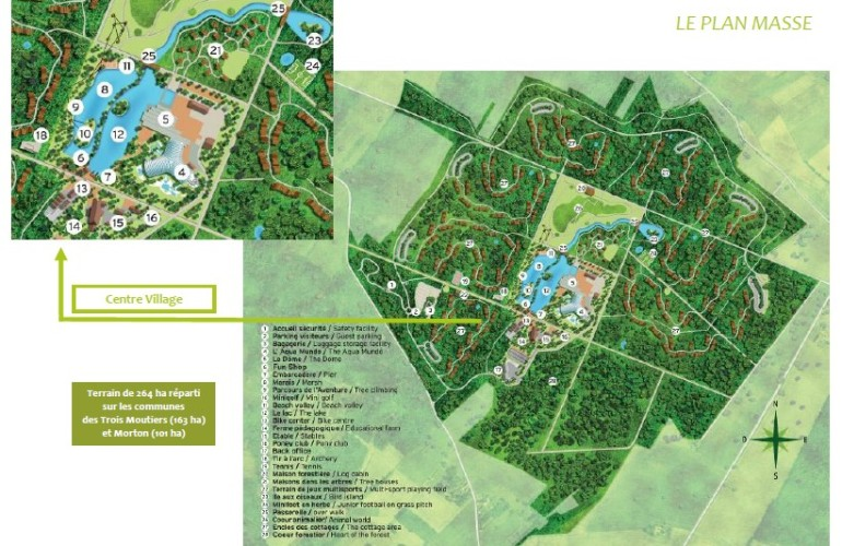 Center parcs le bois aux daims m2leisure - Center parc bois aux daims adresse ...